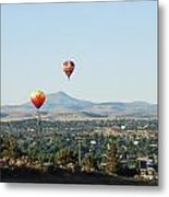Balloons Over Madras Metal Print