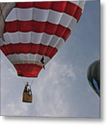 Balloons Over Readington Metal Print