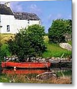Ballycrovane, Beara Peninsula, Co Cork Metal Print