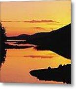 Ballynahinch Lake, Connemara, Co Metal Print