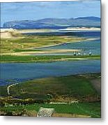 Ballyness, Co Donegal, Ireland Aerial Metal Print
