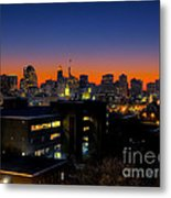 Baltimore At Sunset Metal Print