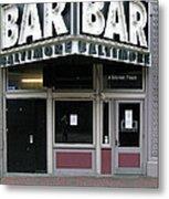 Baltimore Bar Metal Print