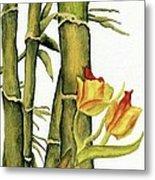 Bamboo Paradise Metal Print