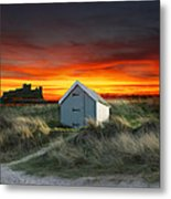 Bamburugh Castle Metal Print