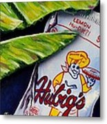 Banana Leaf Series-hubigs Pie Metal Print by Terry J Marks Sr
