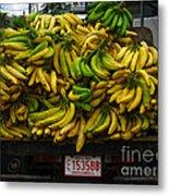 Bananas For Sale  Metal Print