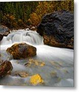 Banff - Autumn Creek Metal Print