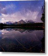 Banff - Herbert Lake Metal Print