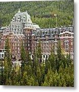 Banff Hotel 1684 Metal Print
