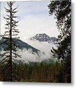 Banff View Metal Print