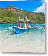Bangka Boat Metal Print
