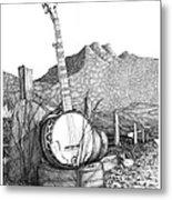 Banjo 2 Metal Print