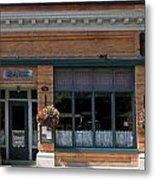 Bank Now Restaurant Metal Print