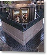 Baptismal Font Salisbury Cathedral - England Metal Print