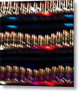 Bar Colors Metal Print
