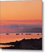 Bar Harbor Dawn Metal Print