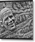 Barack Obama  Metal Print by Blake Richards