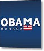 Barack Obama Metal Print by Darren Burroughs