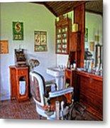 Barber Shop 2 Metal Print