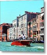 Barca Di Venezia Metal Print