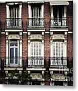 Barcelona Balconies Metal Print