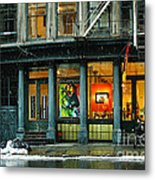 Barcelona Is In Fashion In Nyc Metal Print