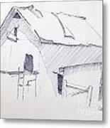 Barn 3 Metal Print by Rod Ismay