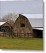 Barn In The Ozarks Metal Print