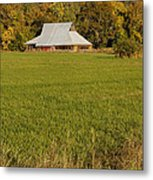 Barn Near Murphy Metal Print