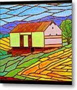 Barn On Springhill Road Metal Print