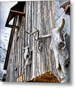Barnstorm Metal Print by Pixel Perfect by Michael Moore