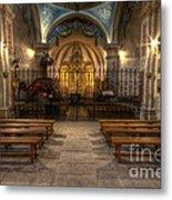 Baroque Church In Savoire France 4 Metal Print