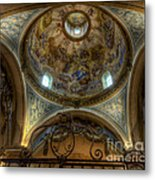 Baroque Church In Savoire France 5 Metal Print