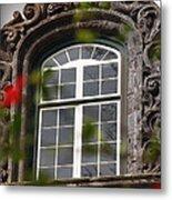 Baroque Style Window Metal Print