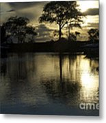 Barrie Harbour Sunrise Metal Print