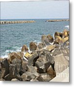 Barrier Metal Print