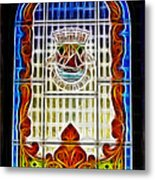 Barriero Window Metal Print