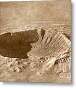 Barringer Crater Metal Print