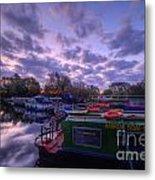 Barrow Boats 2.0 Metal Print