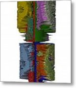 Bart Simpson's Spine Metal Print