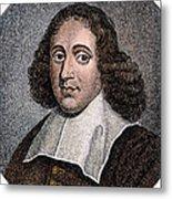 Baruch Spinoza (1632-1677) Metal Print