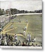 Baseball, 1866 Metal Print