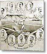 Baseball, 1895 Metal Print