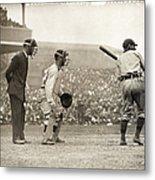 Baseball Game, 1908 Metal Print