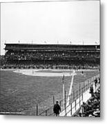 Baseball Game, C1912 Metal Print