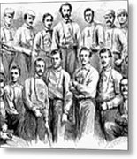 Baseball Teams, 1866 Metal Print by Granger