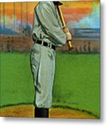 Baseball. Ty Cobb Baseball Card Metal Print by Everett