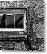 Basement Window Metal Print