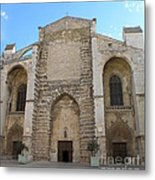 Basilica Of Saint Mary Madalene Metal Print by Lainie Wrightson